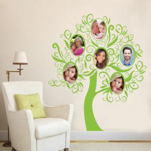 Αυτοκόλλητο τοίχου οικογενειακό δέντρο