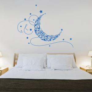 Αυτοκόλλητο τοίχου φεγγάρι