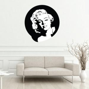 Αυτοκόλλητο τοίχου Marilyn Monroe