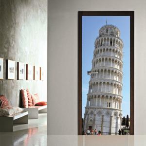 # Αυτοκόλλητο πόρτας Ιταλία Πύργος της Πίζας - Sticker Box