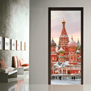 # Αυτοκόλλητο πόρτας Ρωσία - Sticker Box