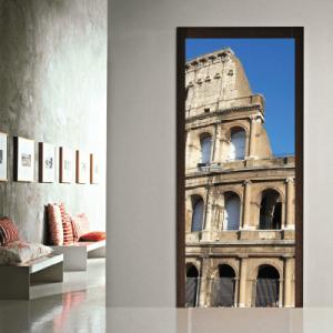 # Αυτοκόλλητο πόρτας Ρώμη - Sticker Box