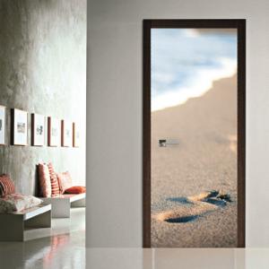 # Αυτοκόλλητο πόρτας άμμος - Sticker Box
