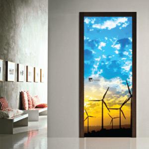 # Αυτοκόλλητο πόρτας αιολική ενέργεια - Sticker Box