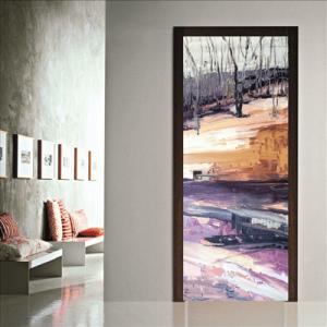 # Αυτοκόλλητο πόρτας με δάσος - Sticker Box