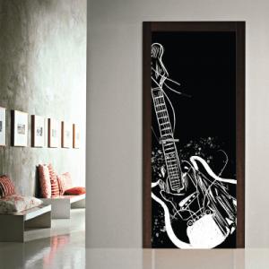 # Αυτοκόλλητο πόρτας κιθάρα - Sticker Box