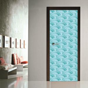 # Αυτοκόλλητο πόρτας κύματα - Sticker Box