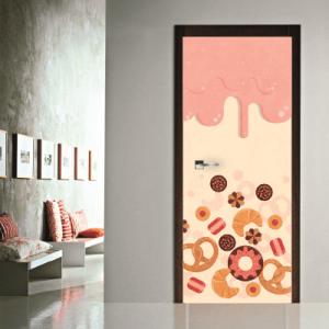 # Αυτοκόλλητο πόρτας με γλυκά - Sticker Box
