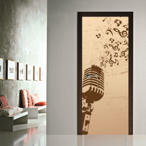 # Αυτοκόλλητο πόρτας με μουσική - Sticker Box