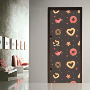 # Αυτοκόλλητο πόρτας μοτίβο με γλυκά - Sticker Box