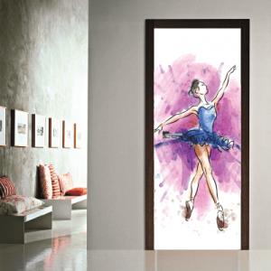 # Αυτοκόλλητο πόρτας μπαλέτο - Sticker Box