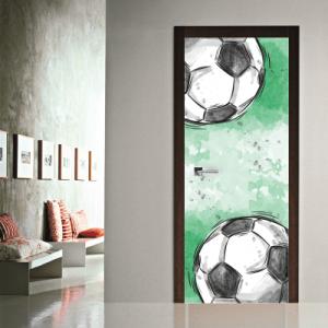 # Αυτοκόλλητο πόρτας ποδόσφαιρο - Sticker Box
