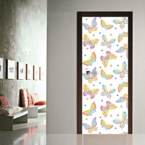 # Αυτοκόλλητο πόρτας πολύχρωμες πεταλούδες - Sticker Box