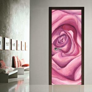 # Αυτοκόλλητο πόρτας τριαντάφυλλο - Sticker Box