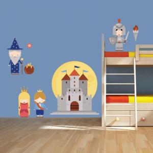 # Αυτοκόλλητο τοίχου βασιλιάδες και μάγοι - Sticker Box