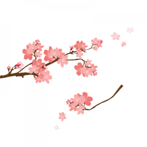 Αυτοκόλλητο τοίχου δέντρο την άνοιξη_1