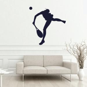 # Αυτοκόλλητο τοίχου φιγούρα τένις - Sticker Box
