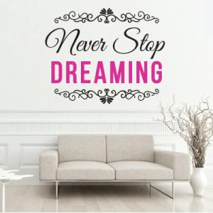 # Αυτοκόλλητο τοίχου dreaming - Sticker Box