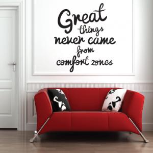 # Αυτοκόλλητο τοίχου great things - Sticker Box