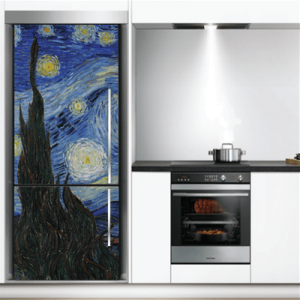# Αυτοκόλλητο ψυγείου έργο τέχνης Van Gogh - Sticker Box