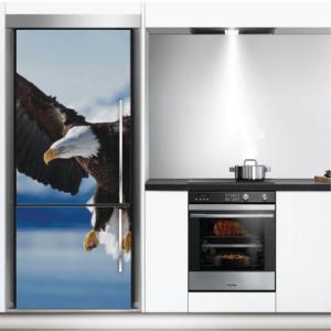 # Αυτοκόλλητο ψυγείου αετός - Sticker Box