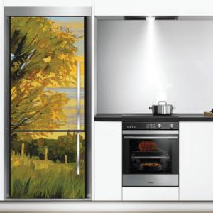 # Αυτοκόλλητο ψυγείου ζωγραφιά με φύση - Sticker Box