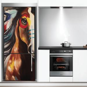 # Αυτοκόλλητο ψυγείου με άλογο - Sticker Box