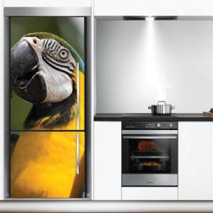 # Αυτοκόλλητο ψυγείου με παπαγάλο - Sticker Box