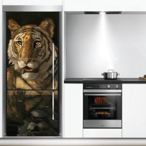 # Αυτοκόλλητο ψυγείου τίγρης - Sticker Box