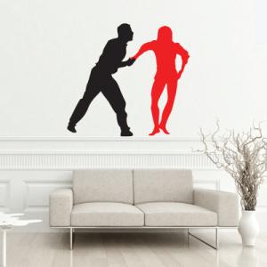 # Αυτοκόλλητο τοίχου χορευτές - Sticker Box