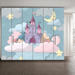 # Αυτοκόλλητα ντουλάπας με κάστρο - Sticker Box