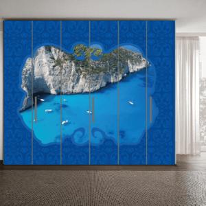 # Αυτοκόλλητο ντουλάπας Ζάκυνθος - Sticker Box