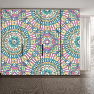 # Αυτοκόλλητο ντουλάπας μοτίβο κύκλοι - Sticker Box