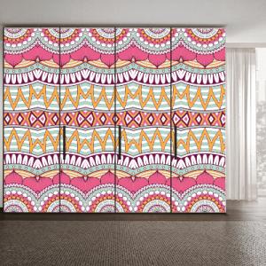 # Αυτοκόλλητο ντουλάπας μοτίβο σχέδια - Sticker Box