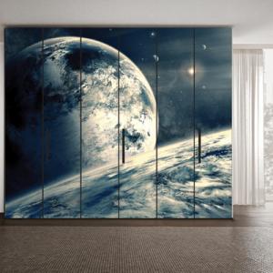 # Αυτοκόλλητο ντουλάπας πλανήτης - Sticker Box