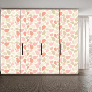 # Αυτοκόλλητο ντουλάπας πολύχρωμα σχέδια - Sticker Box