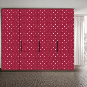 # Αυτοκόλλητο ντουλάπας πουά μοτίβο - Sticker Box