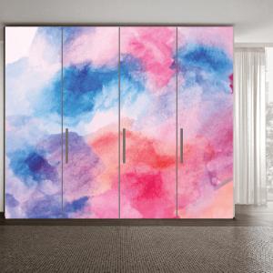 # Αυτοκόλλητο ντουλάπας χρωματιστό μοτίβο - Sticker Box