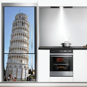 # Αυτοκόλλητο ψυγείου Πύργος της Πίζας - Sticker Box