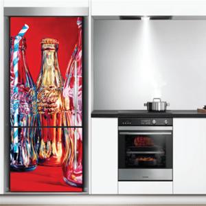 # Αυτοκόλλητο ψυγείου αναψυκτικά - Sticker Box