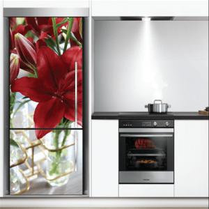 # Αυτοκόλλητο ψυγείου ανθισμένο λουλούδι - Sticker Box