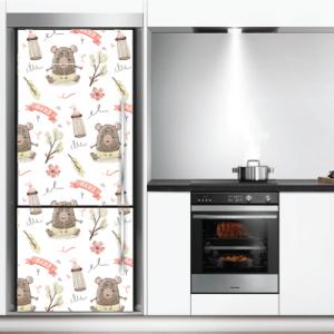 # Αυτοκόλλητο ψυγείου αρκουδάκια - Sticker Box