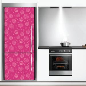 # Αυτοκόλλητο ψυγείου για ζαχαροπλαστείο - Sticker Box