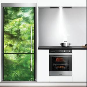 # Αυτοκόλλητο ψυγείου δάσος - Sticker Box
