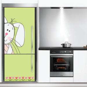 # Αυτοκόλλητο ψυγείου κουνελάκι - Sticker Box