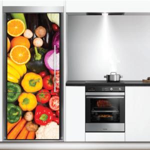 # Αυτοκόλλητο ψυγείου με λαχανικά - Sticker Box