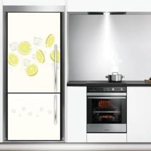 # Αυτοκόλλητο ψυγείου με λεμόνια - Sticker Box