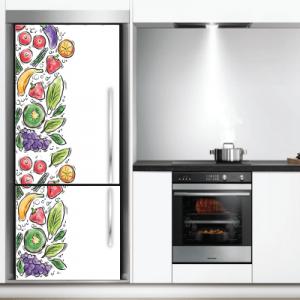 # Αυτοκόλλητο ψυγείου με φρούτα - Sticker Box