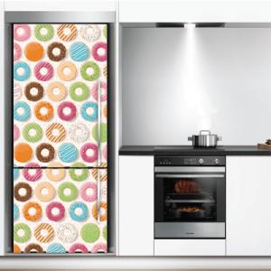 # Αυτοκόλλητο ψυγείου με donut - Sticker Box
