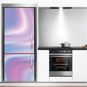 # Αυτοκόλλητο ψυγείου μοτίβο αποχρώσεις - Sticker Box
